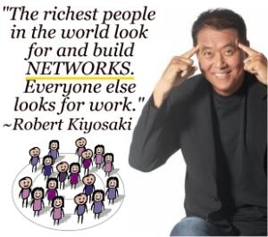 Kiyosaki-buildnetworks-residual-passive-income