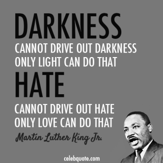 I'm remembering Dr. Martin Luther King, Jr. today and everyday!